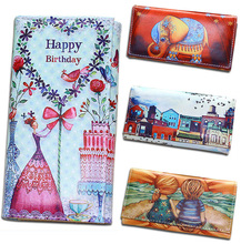 Women Wallets Lady Purses Cards ID Holder Clutch Female Long Wallet Moneybag Coin Purse Brand Design Doll Girls Handbags Burse(China)