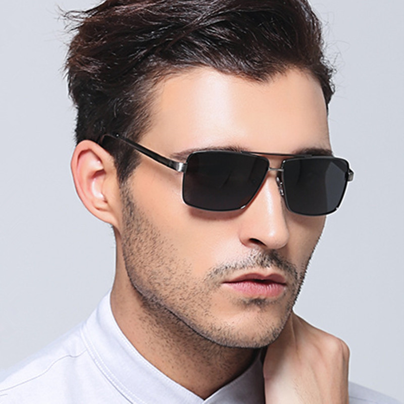 Mix wind Best Sunglasses for Golf Driving Fishing Mens Polarised Sunglasses Brand Designer  HD Polarized Lenses Alloy Frame 8712<br><br>Aliexpress