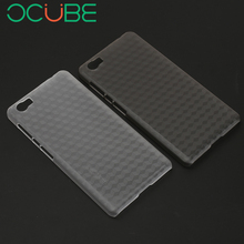 "OCUBE New Vernee Mars Pro Back Cover Case Protect Case Cover Quality Hard Cover Case For 5.5"" Vernee Mars Pro Smart Mobile Phone(China)"