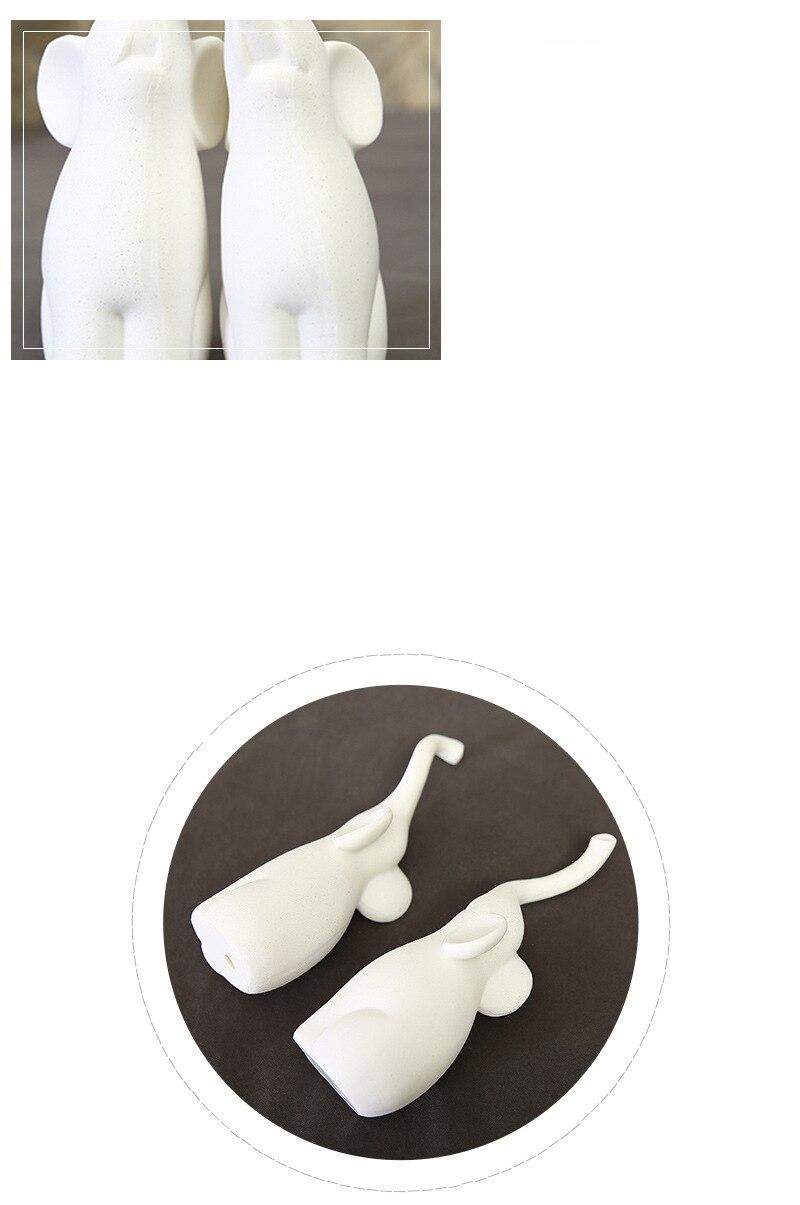 Elephant Lovers Figurines (4)
