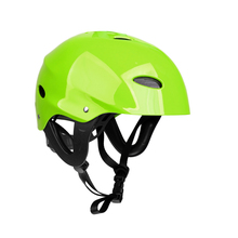 Adjustable Kayaking Canoeing Water Sports Safety Helmet M/L for Canoe Kayak Inflatable Fishing Boat Dinghy Access Green/Rose Red