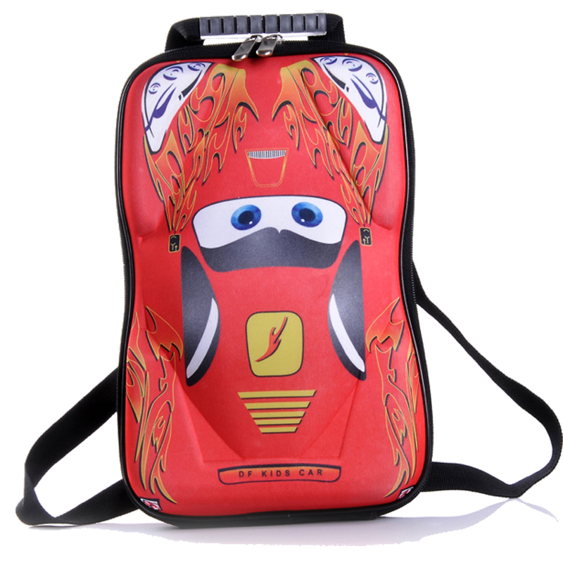 free shipping HOT SALE EVA Cars School bag Children backpacks kids Boys Girls baby bags<br><br>Aliexpress