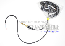 New DJ headphone cable cord line with PLUG for repairing pioneer ATH Sony AKG Technics mdr DJ headphones(China)