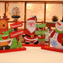 New 1Pc 18*20cm Santa Claus Doll Toy Christmas Tree Ornaments Decoration Exquisite For Home Natal Gift For Kids Navidad Decor