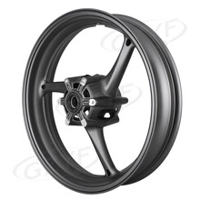 Motorcycle Alloy Front Wheel Rim For Suzuki GSXR 600 750 2008 2009 2010 K8 & GSXR1000 2009-2011 K9 Matte Black(China)