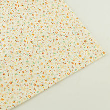 Small Cuted Flowers Design 100% Cotton Fabrics Tissue Patchwork Fabric Fat Quarter Sewing Cloth Tecido Tilda Crafts Dolls Telas
