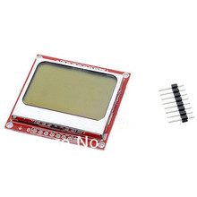 25pcs/lot 5110 LCD display Black on White Background 84x48 Display for 8 Bit AVR/PIC Projects high quality