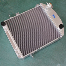 aluminum radiator For Ford Model T BUCKET HOT ROD W/AT cooler 1917-1927 26  70MM 3row
