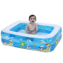 Inflatable Baby Swimming Pool Portable Children Bath Tub Kids Mini-playground Outdoor Multifunctional PVC interesting(China)