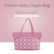 1Pc Multifunctional Baby Diaper Bag Nappy Changing Bag Mother Shoulder Desiger Nursing Bag Baby Care For Mom(China)