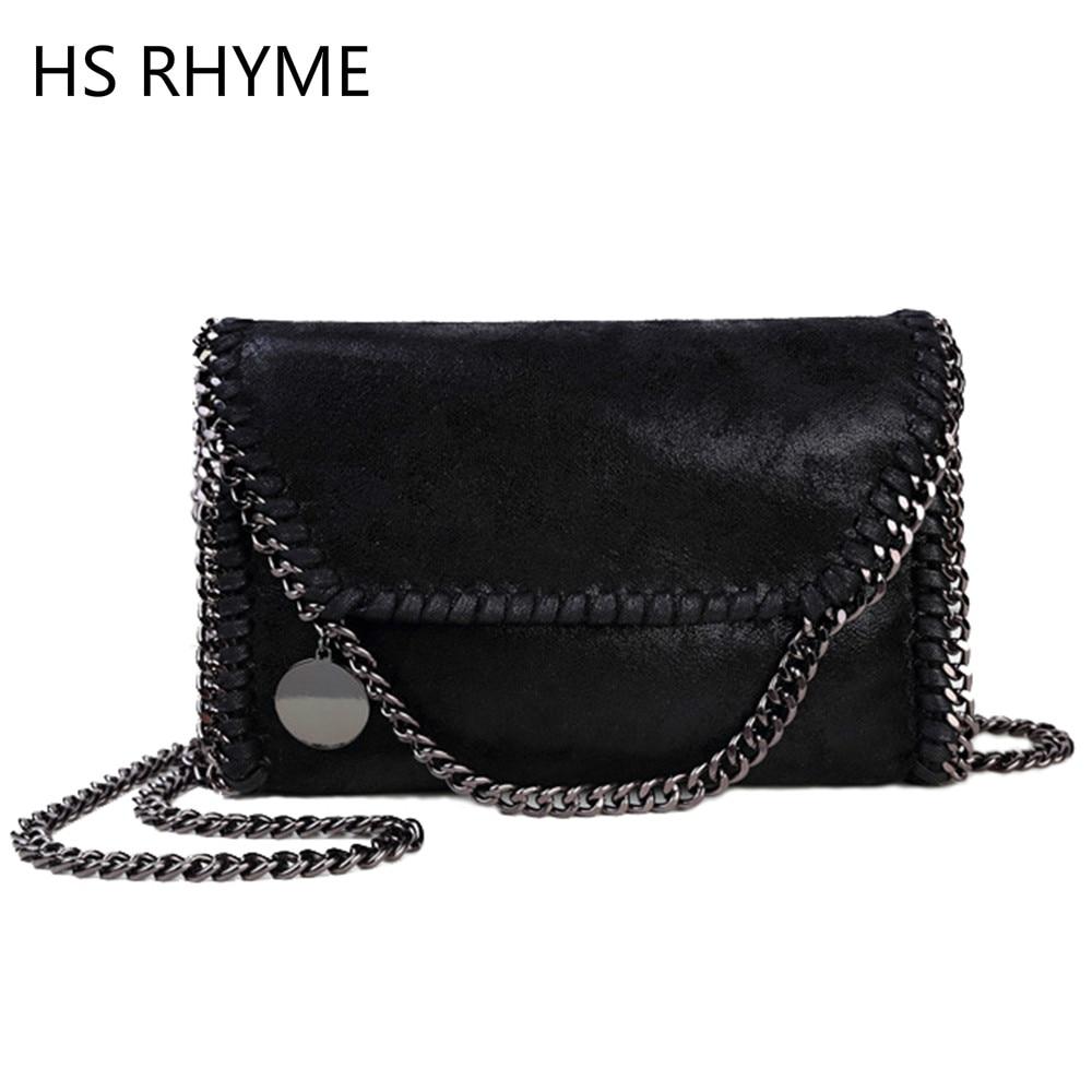 HS RHYME Women Messenger Bags Pu Fashion Portable Evening Chains Hobo Borsa Shoulder Clutch Bolso Female Carteras Mujer Handbags<br><br>Aliexpress