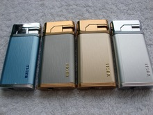 Brushed Metal windproof Lighter Smoking cigarette lighter Accessories
