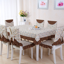Creative Pattern Rectangular Tablecloths Home Wedding Party Table Cloth Printed Nappe Table Cover Overlay, 9 Pieces/set, 5 Sizes(China)