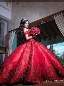 Ball-Gown Quinceanera-Dresses Anos Satin Ballkleid Extra-Puffy Sweet 16 Vestidos-De-15