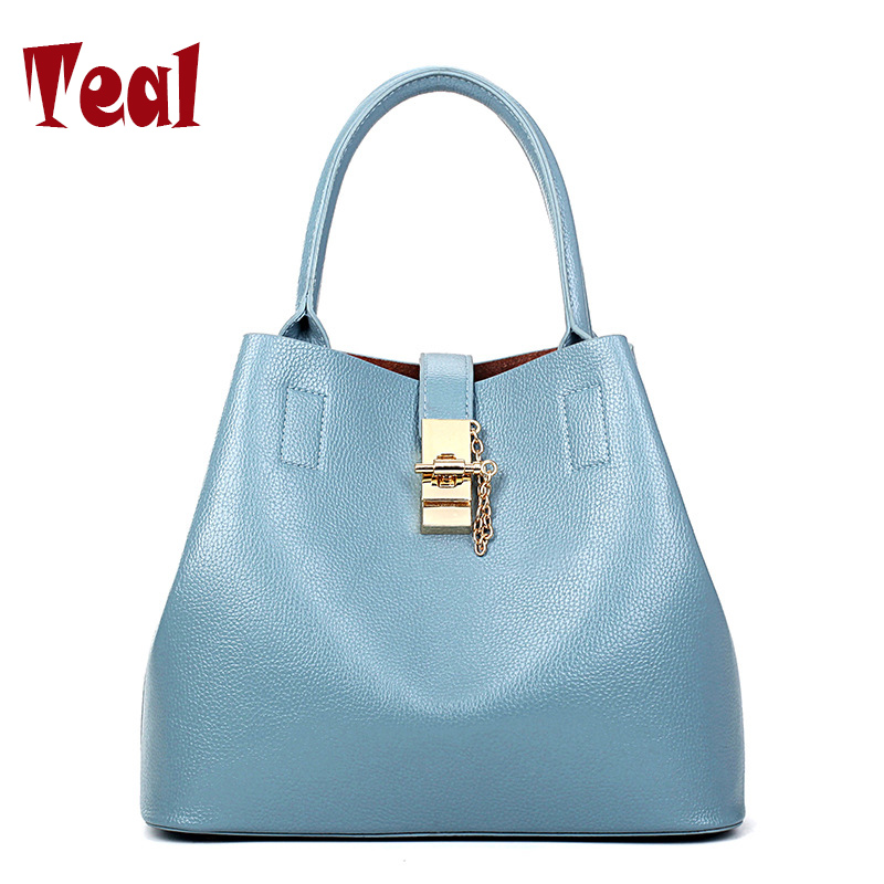 Womens leather bags handbags shoulder Bucket bag lady mother bag women handbag designer handbags high quality large handbags<br><br>Aliexpress