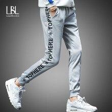 Hommes Joggers Pantalon 2018 Été Nouveau Mens Pantalons de Survêtement  Loisirs Coton Mens Joggeurs Occasionnels pantalons 6faa07aeb16