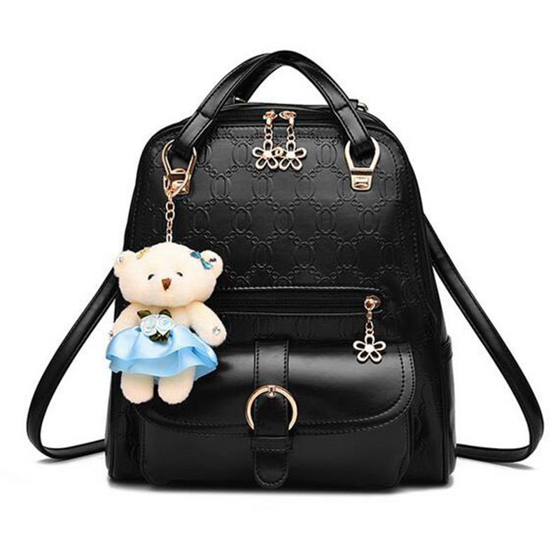 Fashion School Shoulder Bag Bagpack mochila Women Backpack High Quality PU Leather Backpacks for Teenage Girls Female  PP-244<br><br>Aliexpress