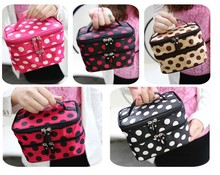 New Cute cosmetic bags Women Lady Travel Makeup bag make up bags box organizer pouch Clutch Handbag