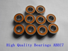 Free shipping 10PCS 3X8X4 Stainless steel hybrid ceramic ball bearing 3x8x4mm S693 2OS CB ABEC7 Fishing vessel bearing