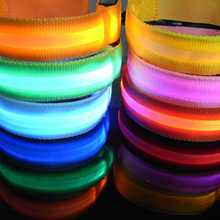 1Pc 3 modes Reflective Safety Belt Arm Strap Night Cycling Running LED Armband Light 6 colors