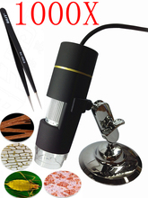 1000X 8LED 2MP Digital Microscope usb Microscope  PCB Inspection Camera Endoscope Loupe Webcam