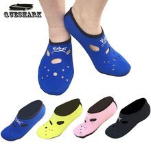2-3MM Neoprene Short Beach Socks Non-slip Antiskid Scuba Dive Boots Snorkeling Sock Swimming Fins Flippers Wetsuit Shoes(China)