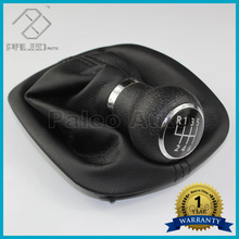 For VW Passat B5 Car-Styling 1997 1998 1999 2000 2001 2002 2003 2004 2005 New 6 Speed Manual Gear Shift Knob With Boot 12mm Hole