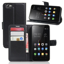 Fashion Cell phone Case For Lenovo Vibe C A2020 PU Flip Leather Case Protector Cover With Wallet and Card Slots For Lenovo A2020(China)