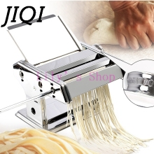 Home hand noddles pasta maker machine stainless steel manual noodle press making machines pasta cutter kitchen cooking tools(China)