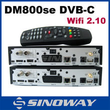 5pcs Engima2 Cable Receiver DVB-C SIM2.10 card DM800HD SE Cable Tuner DVB 800HD SE-C Cable Receiver DM800 HD SE(China)