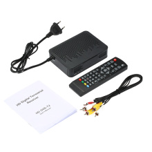FREE SHIPPING K3 DVB-T2 Receiver Digital Video Broadcasting Terrestrial Receiver 1080P Set Top Box H.264/MPEG4  for HDTV