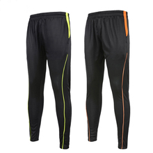 H0179 Free shipping Football training pants male fitness pants legs fast dry riding sports pants