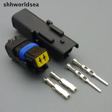 shhworldsea 2sets 2 Pin auto FO Turn light Plug,FO lamp socket Car Sensor connector sealed for PEUGEOT for Citroen for ford etc(China)