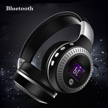 Bluetooth 4.0 Hifi Music Stereo Headset Over Head Earphone Computer Gaming Headphones Earphones With Mic