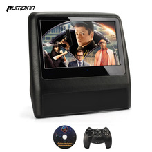 Pumpkin 1PCS/LOT Car DVD Player Headrest 9 Inch Touch Screen Car Monitor For Opel/BMW/Toyota Game Joystick For Univerasal Car(China)