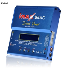 kebidu 50W iMAX B6AC V2 6A Lipo Battery Balance Charger LCD Display Discharger For RC Model Battery Charging Re-peak Mode(China)