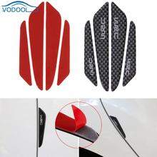 Buy 4pcs Carbon Fiber Car Sticker Door Protector Universal Atuo Door Side Edge Protection Guards Stickers Auto Styling Accessories for $1.33 in AliExpress store