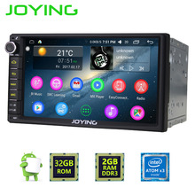 Latest 2GB RAM Android 6.0 Double 2 Din car radio Steering Stereo Navi FM/AM Radio Multimedia Player support wifi GPS Head unit(China)