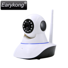 Wifi IP Camera Alarm System Network Alarm Support Android IOS APP , Support 433MHz Wireless Detector, Can connect to GSM Alarm(China)