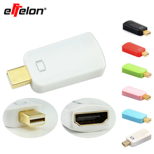 Effelon High Quality Mini displayport to hdmi Mini Display Port Converter Computer Adapter Connector Extender