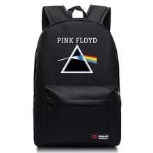 2017 new Fashion Backpacks Teenagers girls Pink Floyd Band Music school book bags Unisex mochila