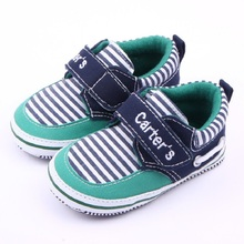 Classic Baby Boys Toddler Carters Sneakers Infant Shoes Casual Fashion Newborn Children Soft Soled Cotton First Walkers for Girl(China)