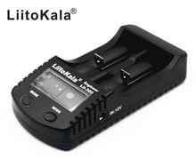 LiitoKala Lii300 18650 Battery Charger LCD Display Lii-300 For 18650/26650/14500/16340/17500/AA/AAA/Ni-MH Rechargeable Batteries(China)