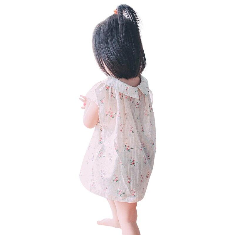 2017 Summer Casual Cotton Girl Dress<br>