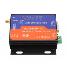 USR-WIFI232-610V2 Serial WIFI Converter RS232 RS485 to WiFi TCP/IP Ethernet Wireless Adapter