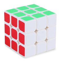 Hot Sale 3x3x3 Three Layers Cube Puzzle Toy Magic Cube 3x3x3 Profissional White Colors Neo Cube Toys For Children Kids For Gift(China)
