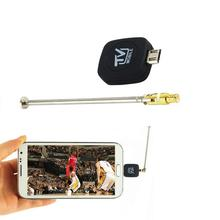 1pcs Mini Micro USB DVB-T Digital Mobile TV Tuner Receiver for Android 4.1 to 5.0 Hot Worldwide Drop Shipping(China)