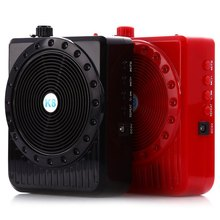 New Loudspeaker Digital Megaphone Voice Amplifier Booster Mini Portable Speaker Microphone Audio With FM Radio USB TF Card Sort