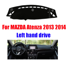 Buy Mazda 6 3th ATENZA dashboard mat protective pad dash mat cover Photophobism Pad cover car styling accessories 2013-2014 for $22.24 in AliExpress store