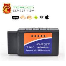 pic18f25k80 ELM327 V1.5 Wifi Bluetooth OBD2 OBD 2 Diagnostic Tool as Easydiag Scanner Automotive scanner elm 327 Diagnostic-Tool(China)